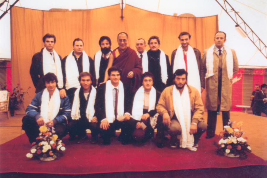 Dalai Lama Pomaia