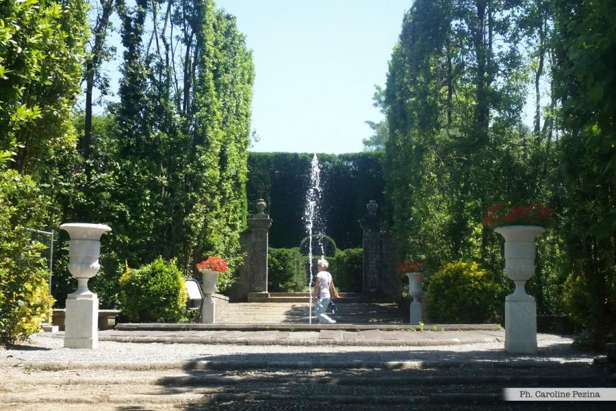 Giardino dei limoni Villa Reale Marlia residenza di Elisa Bonaparte Baciocchi, sorella di Napoleone